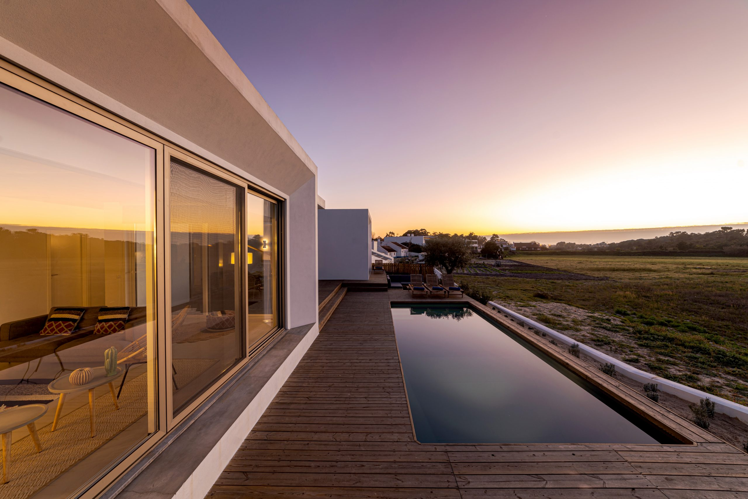 modern villa with pool and deck VBWZZW7 scaled 1