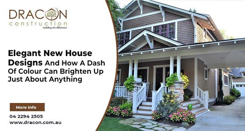 Elegant New House Designs