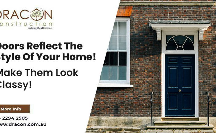 Doors Reflect The Style Of Your Home! Make Them Look Classy!